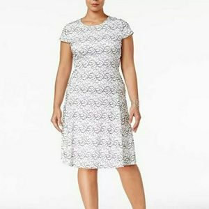 Alfani Fit and Flare Dress New With Tags